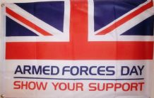 ARMED FORCES DAY - 3 X 2 FLAG
